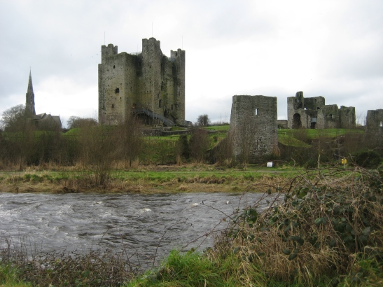 Another view of Trim Castle