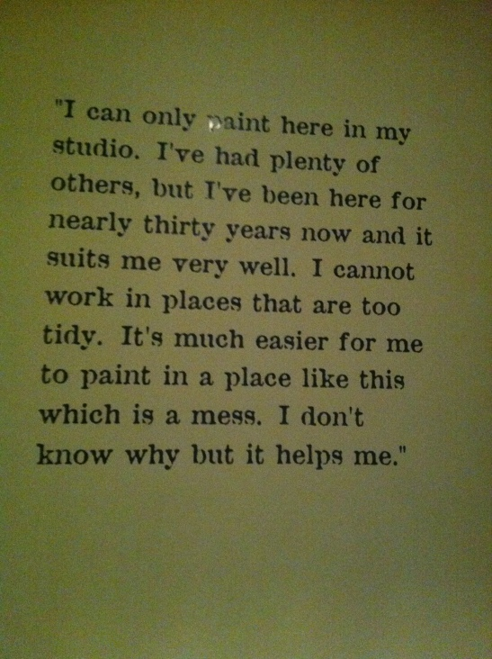 Francis Bacon Quote on Wall