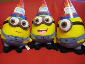 Happy Birthday from the Minions!