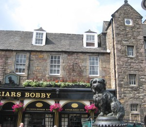 Grayfriars Bobby Bar and Statue