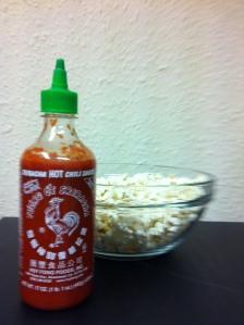 Sriracha on your popcorn